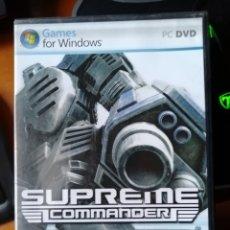 Videojuegos y Consolas: JUEGO SUPREME COMMANDER PARA PC. Lote 189442115