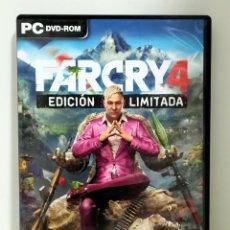 Videojuegos y Consolas: FARCRY 4 COMPLETO JUEGO PC. EDICIÓN LIMITADA. Lote 189575335