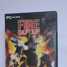 Videojuegos y Consolas: JUEGO PC FIRE CAPTAIN 2004 MONTE CRISTO ATARI ESTRATEGIA TIEMPO REAL EQUIPO DE BOMBEROS CURIOSIDAD. Lote 189640356