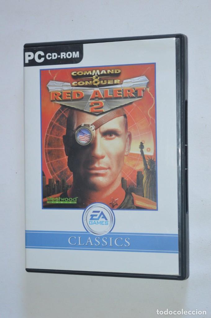 JUEGO PC COMMAND & CONQUER RED ALERT 2 INCLUYE YURI'S REVENGE 2000 WESTWOOD STUDIOS EA GAMES CLASSIC (Juguetes - Videojuegos y Consolas - PC)