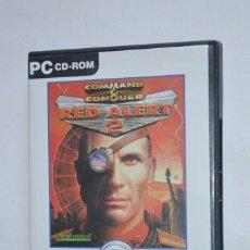 Videojuegos y Consolas: JUEGO PC COMMAND & CONQUER RED ALERT 2 INCLUYE YURI'S REVENGE 2000 WESTWOOD STUDIOS EA GAMES CLASSIC. Lote 218177367