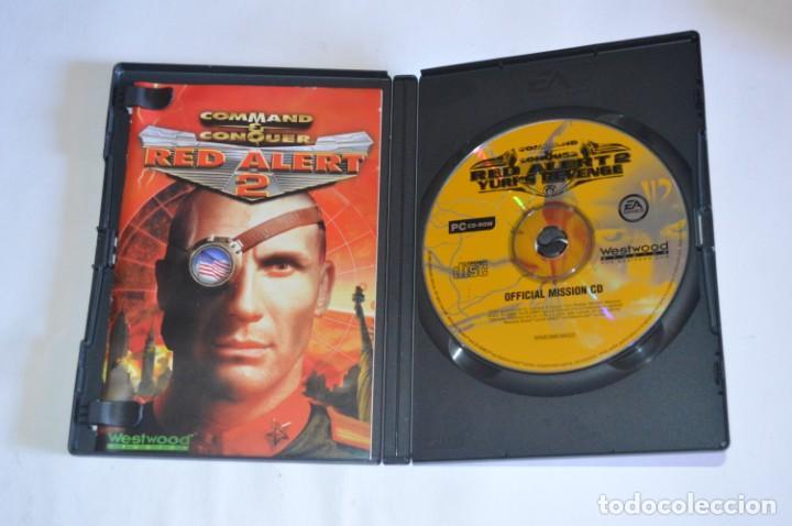 Videojuegos y Consolas: JUEGO PC COMMAND & CONQUER RED ALERT 2 INCLUYE YURIS REVENGE 2000 WESTWOOD STUDIOS EA GAMES CLASSIC - Foto 2 - 218177367