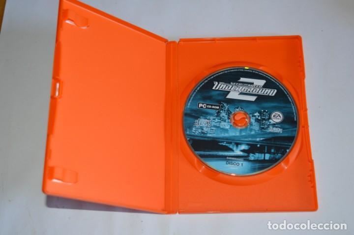 Videojuegos y Consolas: JUEGO PC NEED FOR SPEED UNDERGROUND 2 2004 ELECTRONIC ARTS EA SIMULADOR CARRERAS DE COCHES TUNNING - Foto 2 - 189646623