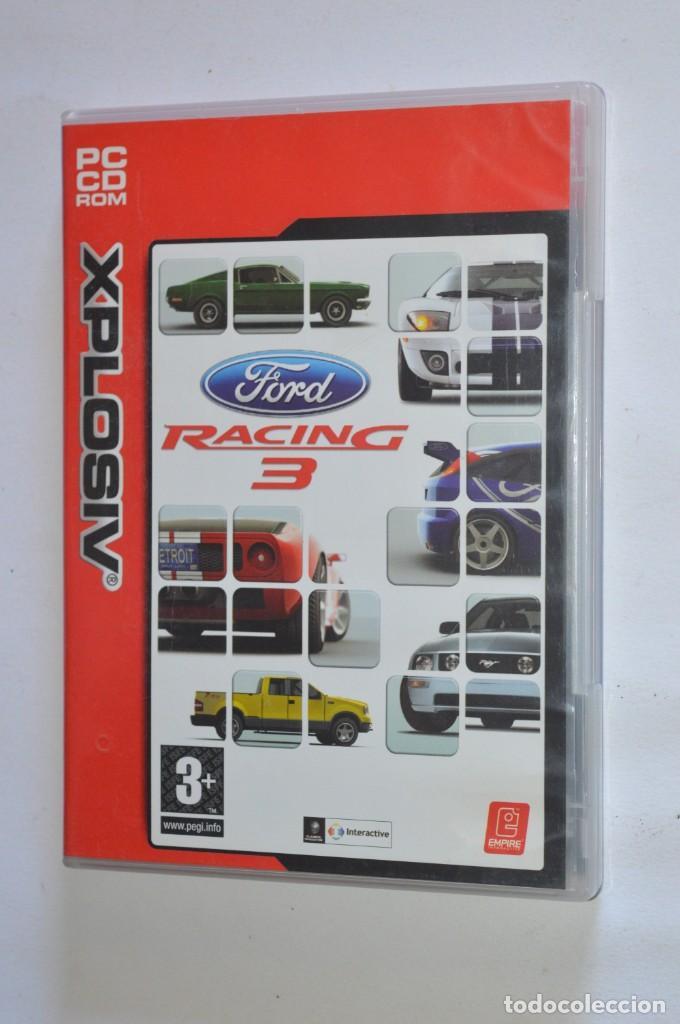 JUEGO PC FORD RACING 3 2004 XPLOSIV EMPRIE INTERACTIVE PLANETA DEAGOSTINI SIMULADOR CARRERAS COCHES (Juguetes - Videojuegos y Consolas - PC)