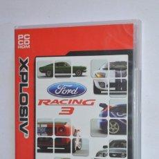 Videojuegos y Consolas: JUEGO PC FORD RACING 3 2004 XPLOSIV EMPRIE INTERACTIVE PLANETA DEAGOSTINI SIMULADOR CARRERAS COCHES. Lote 189646788