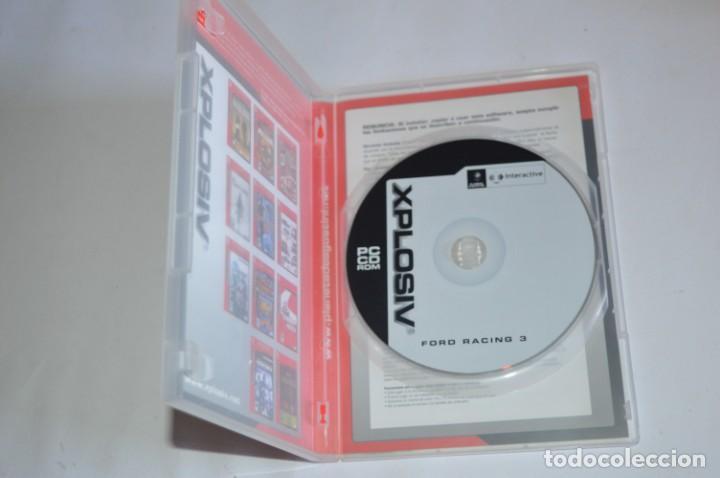 Videojuegos y Consolas: JUEGO PC FORD RACING 3 2004 XPLOSIV EMPRIE INTERACTIVE PLANETA DEAGOSTINI SIMULADOR CARRERAS COCHES - Foto 2 - 189646788