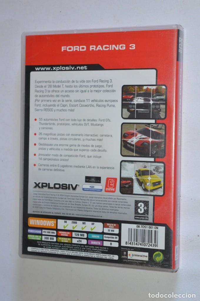 Videojuegos y Consolas: JUEGO PC FORD RACING 3 2004 XPLOSIV EMPRIE INTERACTIVE PLANETA DEAGOSTINI SIMULADOR CARRERAS COCHES - Foto 3 - 189646788