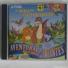 Videojuegos y Consolas: EN BUSCA DEL VALLE ENCANTADO AVENTURAS PARA EL JARDÍN DE INFANTES CD-ROM. Lote 189775105