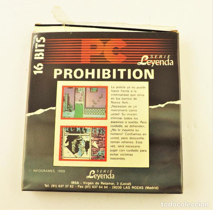 Videojuegos y Consolas: PC Juego Prohibition Serie Leyenda 16 bits - Foto 2 - 190434163