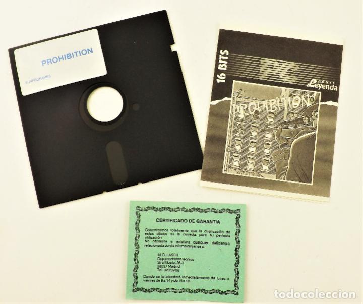 Videojuegos y Consolas: PC Juego Prohibition Serie Leyenda 16 bits - Foto 3 - 190434163