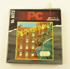 Videojuegos y Consolas: PC JUEGO PROHIBITION SERIE LEYENDA 16 BITS. Lote 190434163