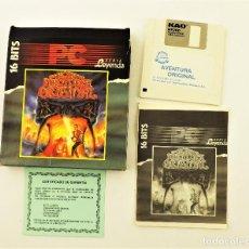 Videojuegos y Consolas: PC JUEGO LA AVENTURA PROHIBIDA 16 BITS SERIE LEYENDA. Lote 190434722