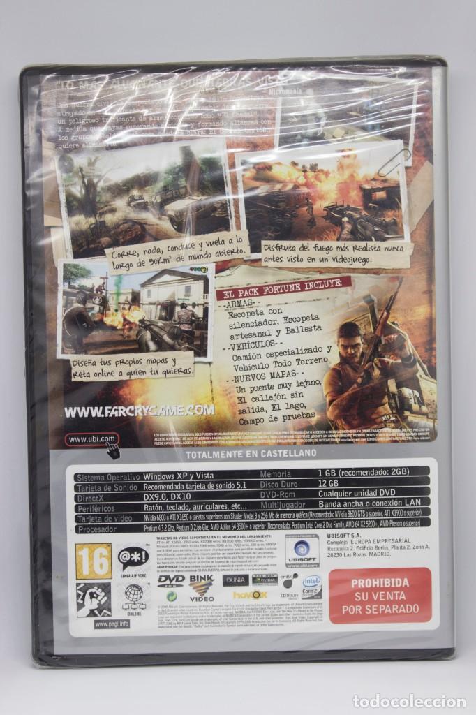 Videojuegos y Consolas: FARCRY 2 FORTUNES EDITION PRECINTADO PC - Foto 2 - 190483558