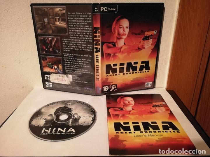 CD ROM ORIGINAL - NINA - AGENT CHRONICLES - JUEGO PC - GAME (Juguetes - Videojuegos y Consolas - PC)