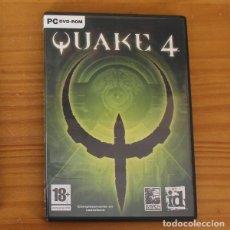 Jeux Vidéo et Consoles: QUAKE 4 -PC DVD ROM- RAVEN ID SOFTWARE VIDEOJUEGO. Lote 191028583