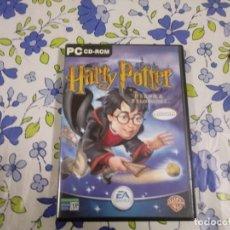 Videojuegos y Consolas: JUEGO DE PC HARRY POTTER Y LA PIEDRA FILOSOFAL. Lote 191139978