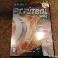 Videojuegos y Consolas: JUEGO DE PC FUTBOL 2006. Lote 191142835