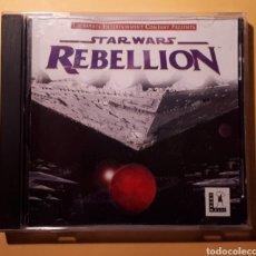 Videojuegos y Consolas: JUEGO PC STAR WARS REBELLION. Lote 191143353