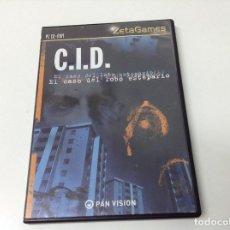 Videojuegos y Consolas: C.I.D. EL CASO DEL LOBO ESTEPARIO. Lote 191182475