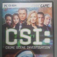 Videojuegos y Consolas: CSI CRIME SCENE INVESTIGATION. Lote 191318476