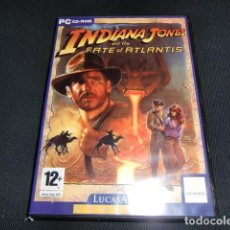 Videojuegos y Consolas: INDIANA JONES FATE OF ATLANTIS - JUEGO PC - LUCASARTS- LUCAS ARTS CLASSIC. Lote 191360480