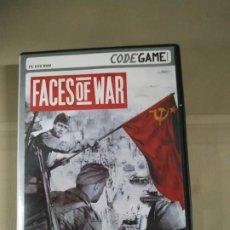 Videojuegos y Consolas: FACES OF WAR. Lote 191556811
