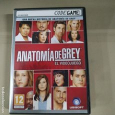 Videojuegos y Consolas: ANATOMIA DE GREY. EL VIDEOJUEGO. Lote 191557311