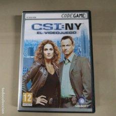 Videojuegos y Consolas: CSI: NY. EL VIDEOJUEGO. Lote 191557462
