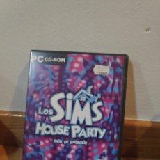Videojuegos y Consolas: LOS SIMS HOUSE PARTY PACK DE EXPANSIÓN. Lote 191657497