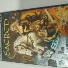 Jeux Vidéo et Consoles: SACRED LA LEYENDA DEL ARMA SAGRADA - JUEGO PARA PC CD-ROM ESPAÑOL - EDICION ESPAÑA. Lote 191997825