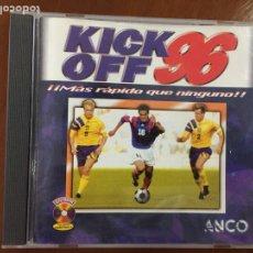 Videojuegos y Consolas: KICK OFF 96 - PC. Lote 192019382
