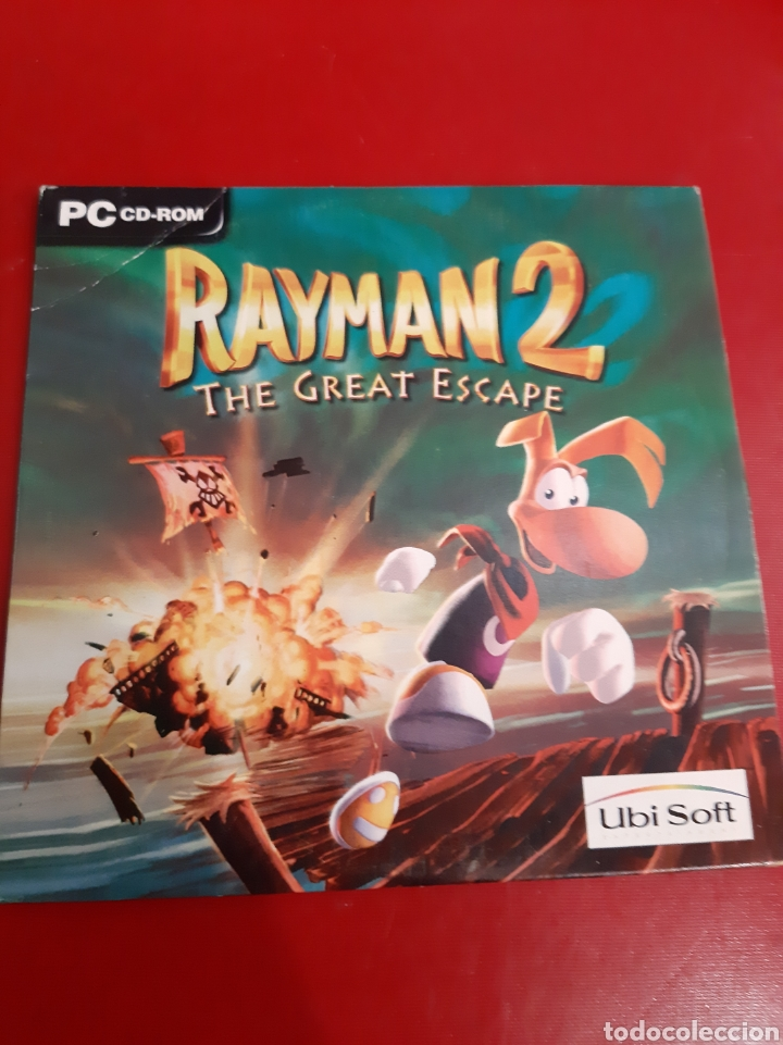 PC RAYMAN 2 THE GREAT ESCAPE COMPACT DISC 1999 (Juguetes - Videojuegos y Consolas - PC)