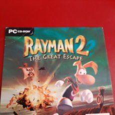 Videojuegos y Consolas: PC RAYMAN 2 THE GREAT ESCAPE COMPACT DISC 1999. Lote 192268665