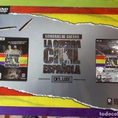 Jeux Vidéo et Consoles: SOMBRAS DE GUERRA - LA GUERRA CIVIL ESPAÑOLA - PC . Lote 192283532