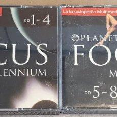 Videojuegos y Consolas: PLANETA FOCUS MILLENNIUM / LA ENCICLOPEDIA MULTIMEDIA / 2 BOX X 4 CDS / EN TOTAL 8 CDS .. Lote 192449876