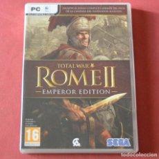 Jeux Vidéo et Consoles: TOTAL WAR - ROME II - EMPEROR EDITION - 3 DISCOS - JUEGO PARA PC. Lote 192734973