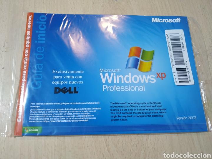 CD REINSTALACIÓN WINDOWS XP PROFESSIONAL CON SP 2 - SIN ABRIR (Juguetes - Videojuegos y Consolas - PC)