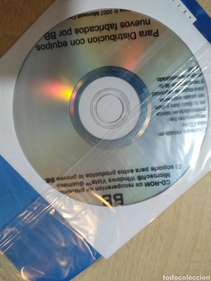 Videojuegos y Consolas: Cd de recuperación Windows Vista Bussines - sin abrir - Foto 3 - 193077260