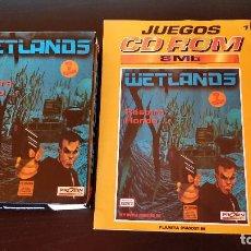 Videojuegos y Consolas: FASCÍCULO + JUEGO PC WETLANDS_ACCIÓN AVENTURA 1995_CAJA CARTÓN PLANETA DE AGOSTINI . Lote 193312670
