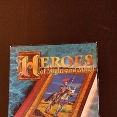 Videojuegos y Consolas: JUEGO PC HEROES OF MIGHT MAGIC_ACCIÓN AVENTURA 1994_CAJA CARTÓN PLANETA DE AGOSTINI. Lote 193319735