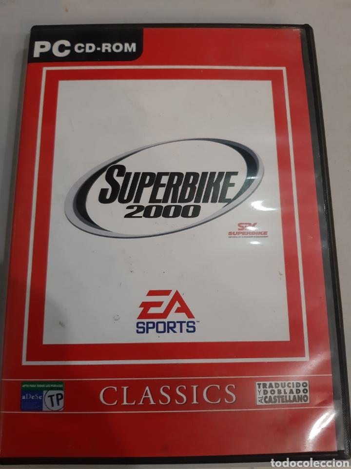 PC CD RON SUPERBIKE 2000 VLASSICS (Juguetes - Videojuegos y Consolas - PC)