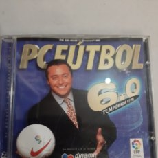 Videojogos e Consolas: PC FUTBOL 1997/98 CD ROM WINDOWS 95 DINAMIC MULTIMEDIA 6.0 LFP. Lote 193392728