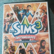 Videojuegos y Consolas: JUEGO PC DVD ROM LOS SIMS 3 TROTAMUNDOS. DISCO DE EXPANSIÓN . Lote 193563512