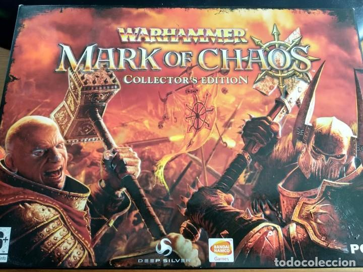 Videojuegos y Consolas: Warhammer mark of chaos collectors edition PC NUEVO SIN USAR - Foto 1 - 193576774