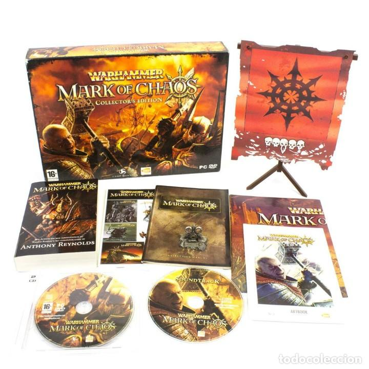 Videojuegos y Consolas: Warhammer mark of chaos collectors edition PC NUEVO SIN USAR - Foto 2 - 193576774