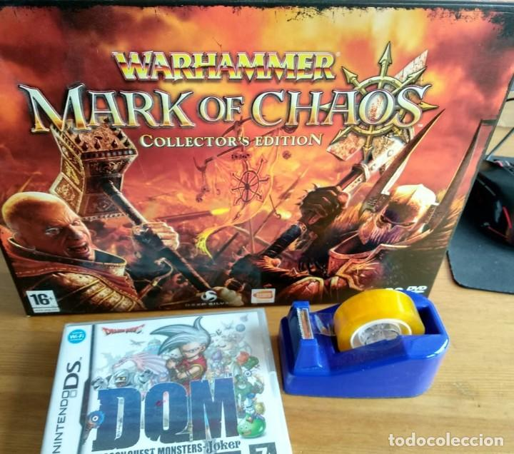 Videojuegos y Consolas: Warhammer mark of chaos collectors edition PC NUEVO SIN USAR - Foto 3 - 193576774