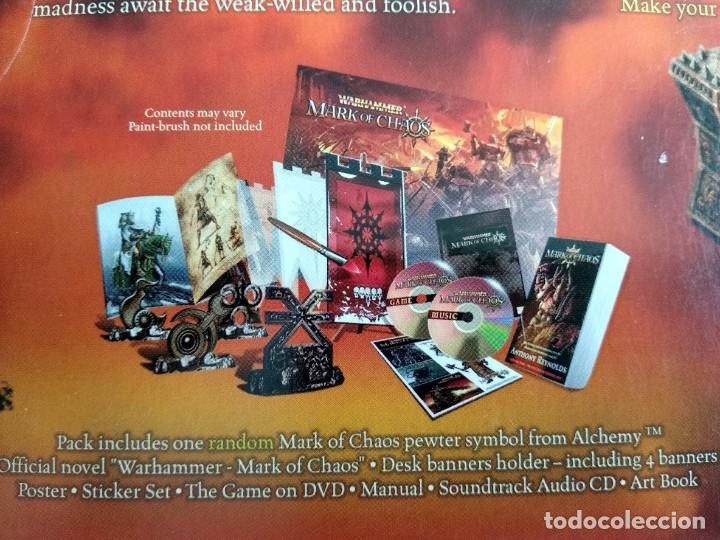 Videojuegos y Consolas: Warhammer mark of chaos collectors edition PC NUEVO SIN USAR - Foto 5 - 193576774