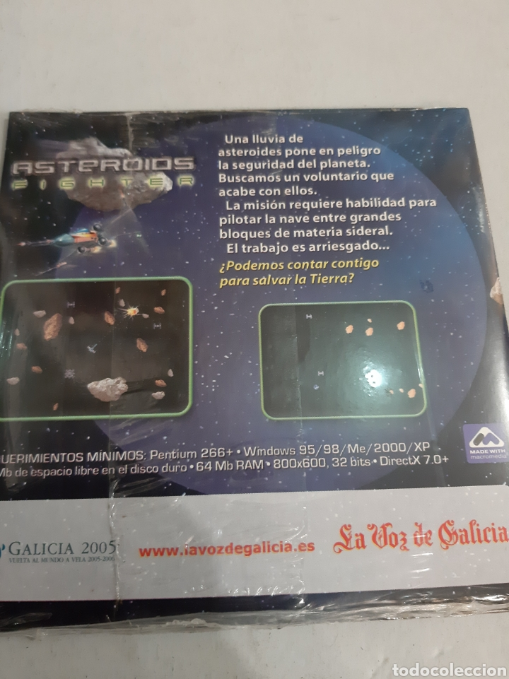 Videojuegos y Consolas: 2005 pc cd Asteroids cataro Games - Foto 2 - 193785368