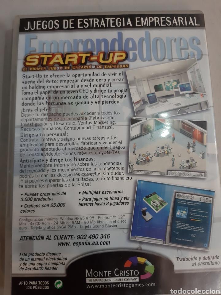 Videojuegos y Consolas: Juego estrategia empresarial Start Up pc cd - Foto 2 - 193807400
