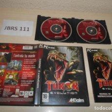 Jeux Vidéo et Consoles: PC - TUROK EVOLUTION , EDICION ESPAÑOLA , COMPLETO. Lote 193815290
